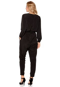 Happy Holly Jumpsuit Svart Bubbleroom.se