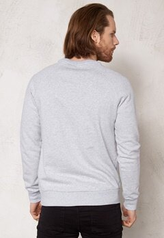 Henri Lloyd Dunstone Crew Sweat Light grey melange Bubbleroom.se