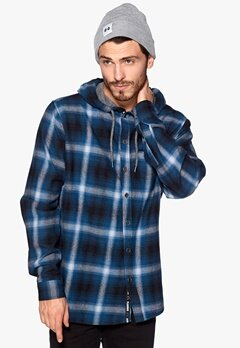 Humör Pinge Hood shirt Jet Black Bubbleroom.se