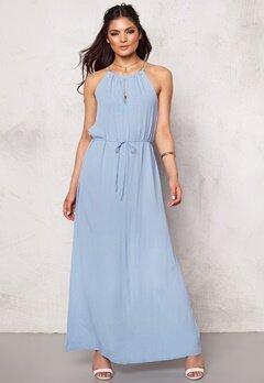ICHI Avelyn Dress Cashmere Blue Bubbleroom.se