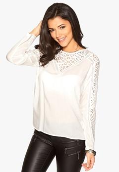 ICHI Broke Shirt 10111 Offwhite Bubbleroom.se
