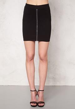 ICHI Kia Skirt Black Bubbleroom.no