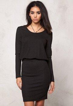 ICHI Krista Dress 10001 Black Bubbleroom.se