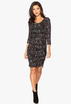 ICHI Lilli Dress 10001 Black Bubbleroom.se