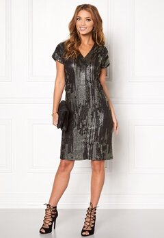 ICHI Limana dress 10001 Black Bubbleroom.se