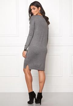 ICHI Mafa Dress Dark Grey Melange Bubbleroom.se