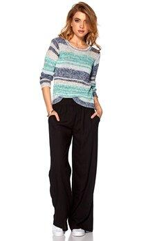 ICHI Malina Sweater 13325 Smoke Bubbleroom.se