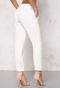 ICHI Sirit Pants 10100 White Bubbleroom.se