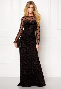 Ida Sjöstedt Helen dress Black Bubbleroom.se