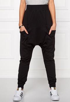 Chiara Forthi Intrend Pocket Pantaloni Black Bubbleroom.se