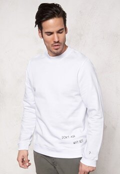 JACK&JONES Ask Sweat Crew Neck White Bubbleroom.se