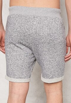 JACK&JONES Boost Sweat Shorts Grey Melange Bubbleroom.se