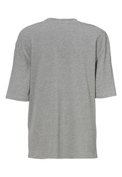JACK&JONES Boxy ss Tee Light Grey Melange Bubbleroom.se