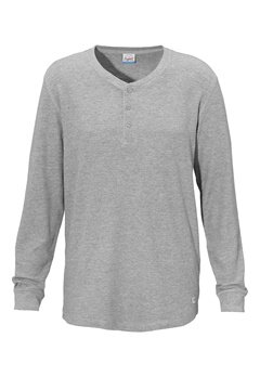 JACK&JONES George Grandad Tee LIGHT GREY ME Bubbleroom.se
