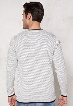JACK&JONES Grant Knit Crew Neck Cloud Dancer Bubbleroom.se