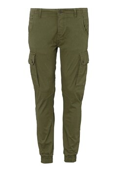 JACK&JONES Paul Warner Trousers Olive Night Bubbleroom.se