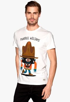 JACK&JONES Pharrell Tee Cloud Dancer Bubbleroom.se