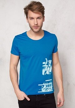 JACK&JONES Placement ss Tee Imperial Blue Bubbleroom.se