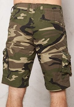 JACK&JONES Preston Cargo Shorts Olive Night Bubbleroom.se