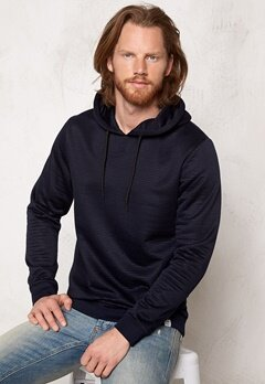 JACK&JONES Roy Sweat Hood Navy Blazer Bubbleroom.se