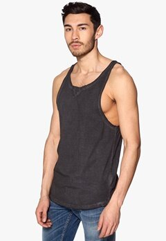 JACK&JONES Rude Tank Top Black Bubbleroom.se