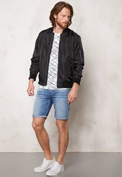 JACK&JONES Weekend Light Bomber Black Bubbleroom.se