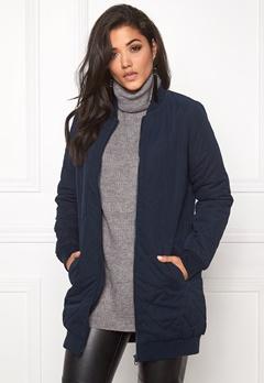 Jacqueline de Yong Alisha quilted coat Sky captain Bubbleroom.se