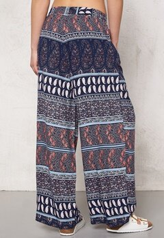 Jacqueline de Yong Bella Pants Cloud Dancer/Print Bubbleroom.se