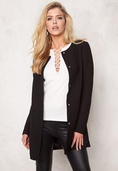 Jacqueline de Yong Brighton Spring Coat Black Bubbleroom.se