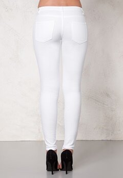 Jacqueline de Yong Five Pant White Bubbleroom.se