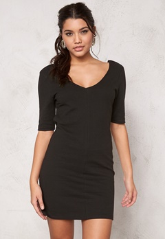 Jacqueline de Yong Livery 3/4 Dress Black Bubbleroom.se
