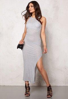 Jacqueline de Yong Owen Jersey Dress Light Grey Melange Bubbleroom.se