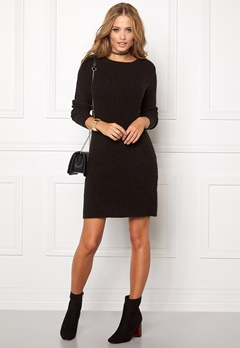Jacqueline de Yong Raven l/s dress Black Bubbleroom.se