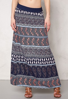 Jacqueline de Yong Rita Long Skirt Cloud Dancer2 Bubbleroom.se
