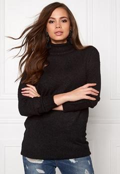 Jacqueline de Yong Stark ls long pullover Black Bubbleroom.se