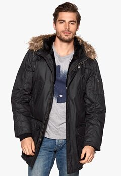 JOFAMA Oliver Jacket Black Bubbleroom.se