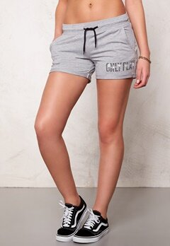 ONLY PLAY Joyelle Sweat Shorts Light Grey Melange Bubbleroom.se