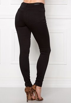 Pieces Just Jute R.M.W Leggings Black Bubbleroom.se