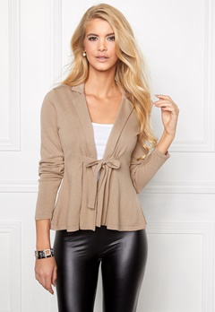 Chiara Forthi Kelly Cotton Cardigan Warm Taupe Bubbleroom.se