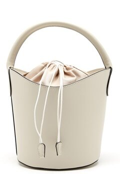 Mixed from Italy Leather Bucket Bag Beige Bubbleroom.se