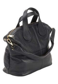 Mixed from Italy Leather Tote Black Bubbleroom.se