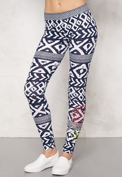 Desigual Leggings Navy Bubbleroom.se