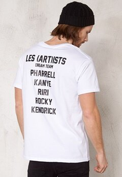 Les Artists Tee Dreamteam White Bubbleroom.se