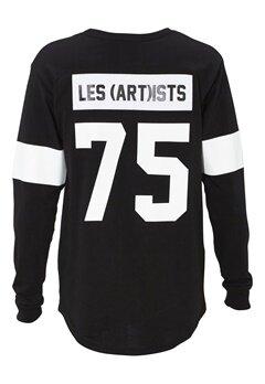 Les Artists TEE ML LES BLACK Bubbleroom.se