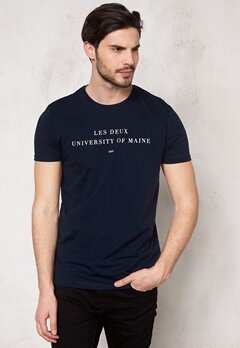 Les Deux Tee University Navy Bubbleroom.se