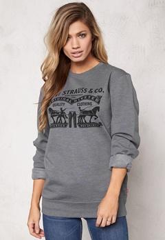 LEVI'S Graphic Crew Sweater Horse Carpark Bubbleroom.se
