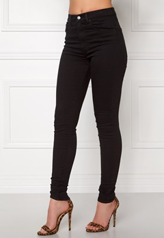 LEVI'S Mile High Super Skinny Black Cove Bubbleroom.se