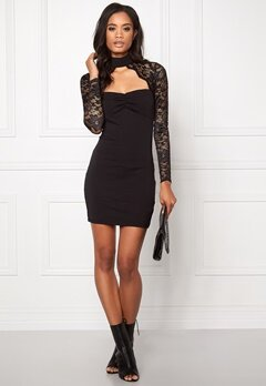 Model Behaviour Linda Dress Black Bubbleroom.se