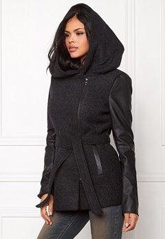 ONLY Lisford Wool Coat Black Bubbleroom.se