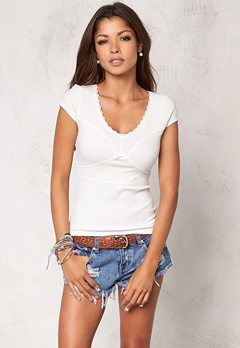 Chiara Forthi Lollipop Top Offwhite Bubbleroom.se